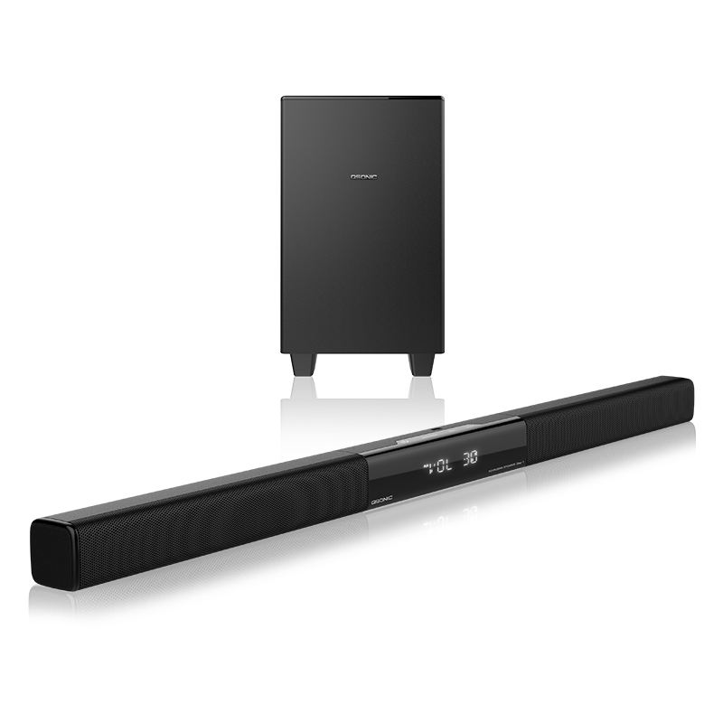 2.1 Big Bass TV Soundbar Bar Sound Speaker Subwoofer Home Theatre System with BT for LED TV