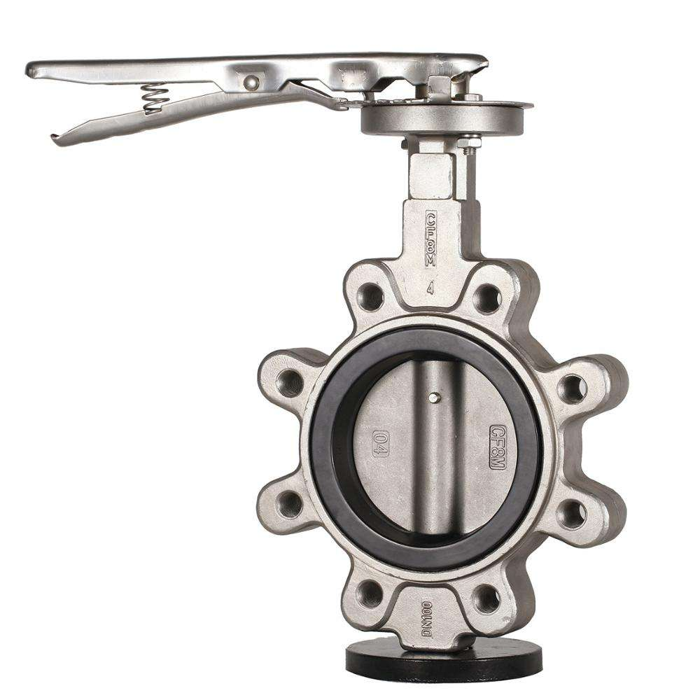 Strainless Steel Lug Support Wafer Butterfly Valve with CE Approval