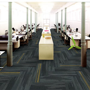 Commercial decorative 50*50 nylon pvc carpet tiles heavy duty carpet tiles for office