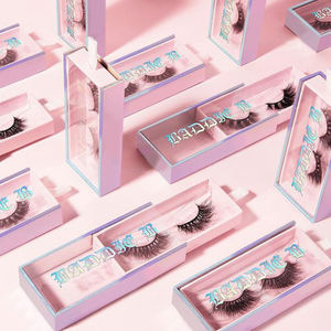 Factory wholesale price OEM 3d faux mink lashes and craft silk lashes 5d synthetic eyelashes free eyelash samples