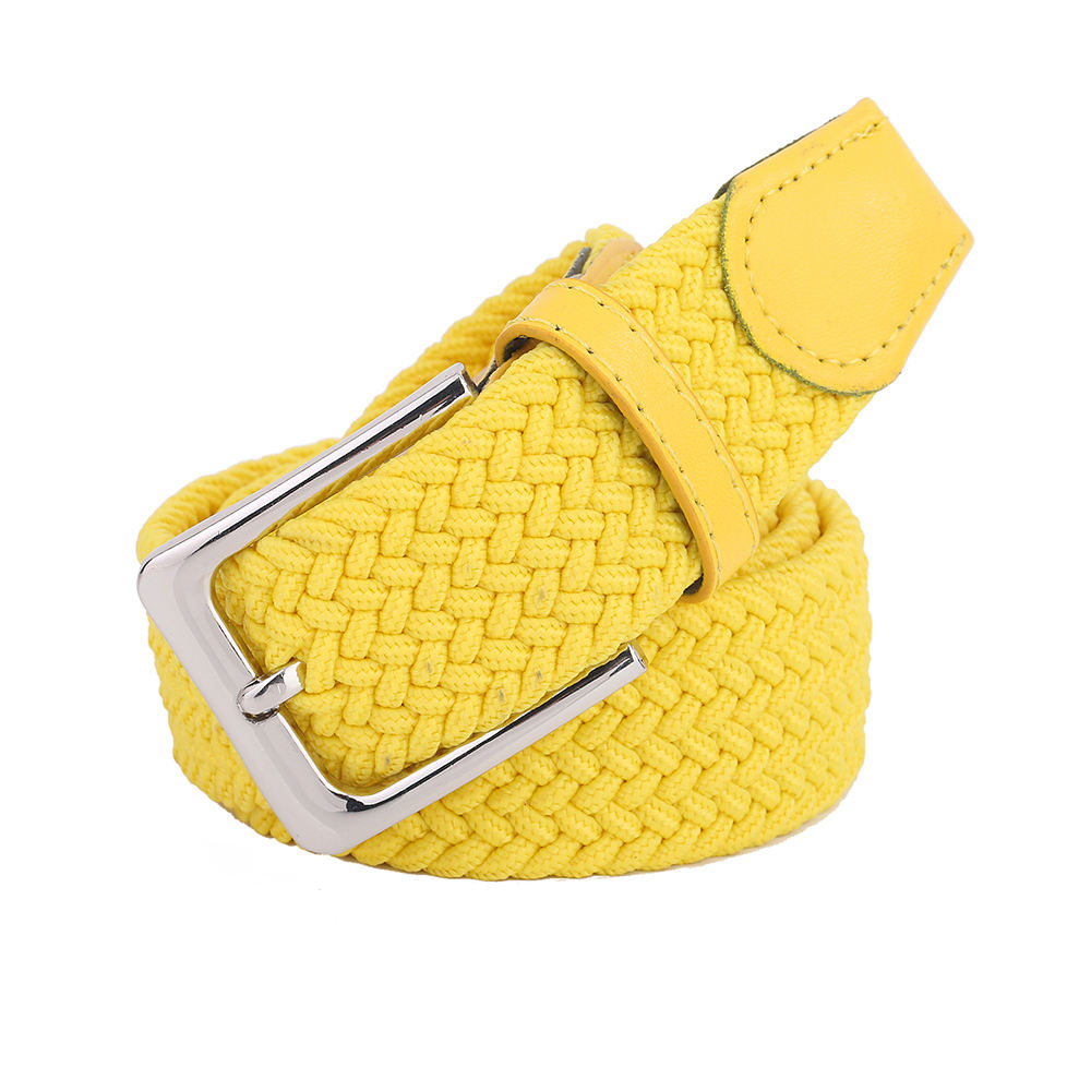 Any size adjustable custom braided belt cintura for women and men
