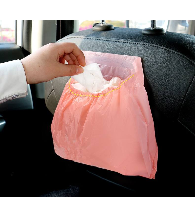 Biodegradable Waterproof Airsickness Bag Car Trash Bag
