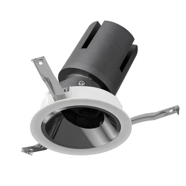High quality commercial hotel store club mall ip20 ip44 aluminum 20w adjustable housing led spot downlight