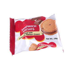 Manufacturer mini Chocolate Vanilla cream sandwich Biscuits and cookies