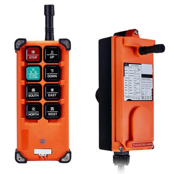 Anti Shock [ Receiver ] Radio Remote Control Construction Crane Remote Control F21-2B Wireless Radio Transmitter Receiver