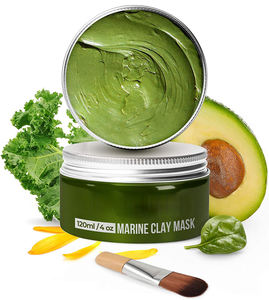 100% VEGAN Dead Sea Mud Mask for Hydrating Remove Blackhead Avocado Clay Mask