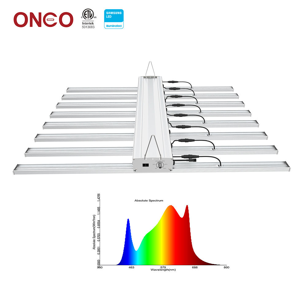Newest Samsung LM301b led Grow Light 5 bars 8 bars 10 bars smart control system 400W 640W 800W LED Grow Light