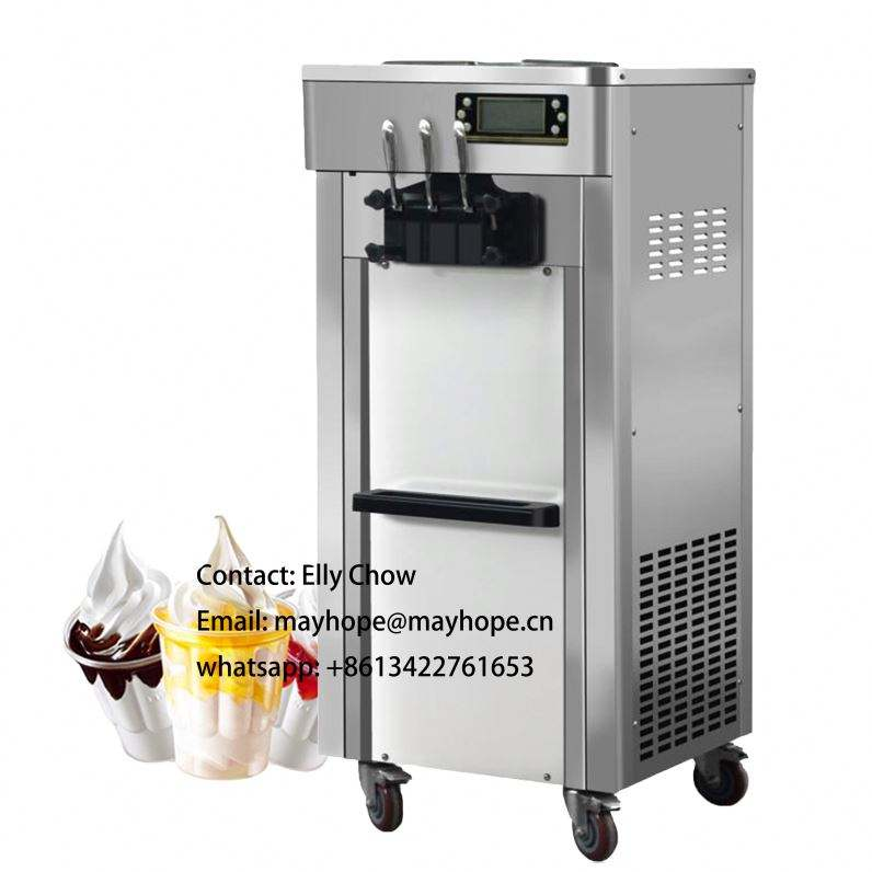 wholesale MAYHOPE soft ice cream machine 220V/50HZ