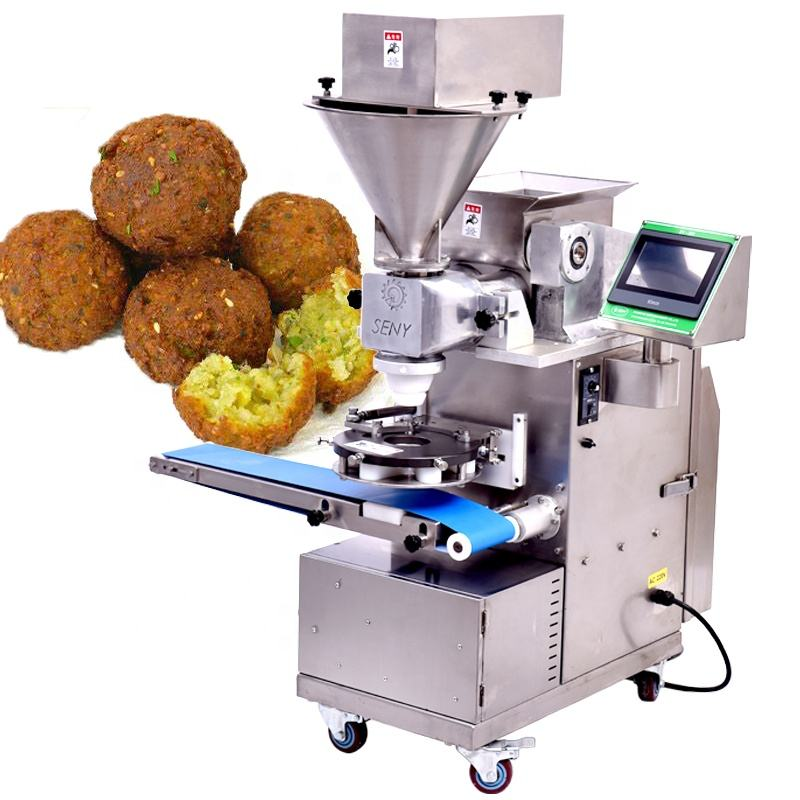 Small Automatic Encrusting Machine for Falafel Making