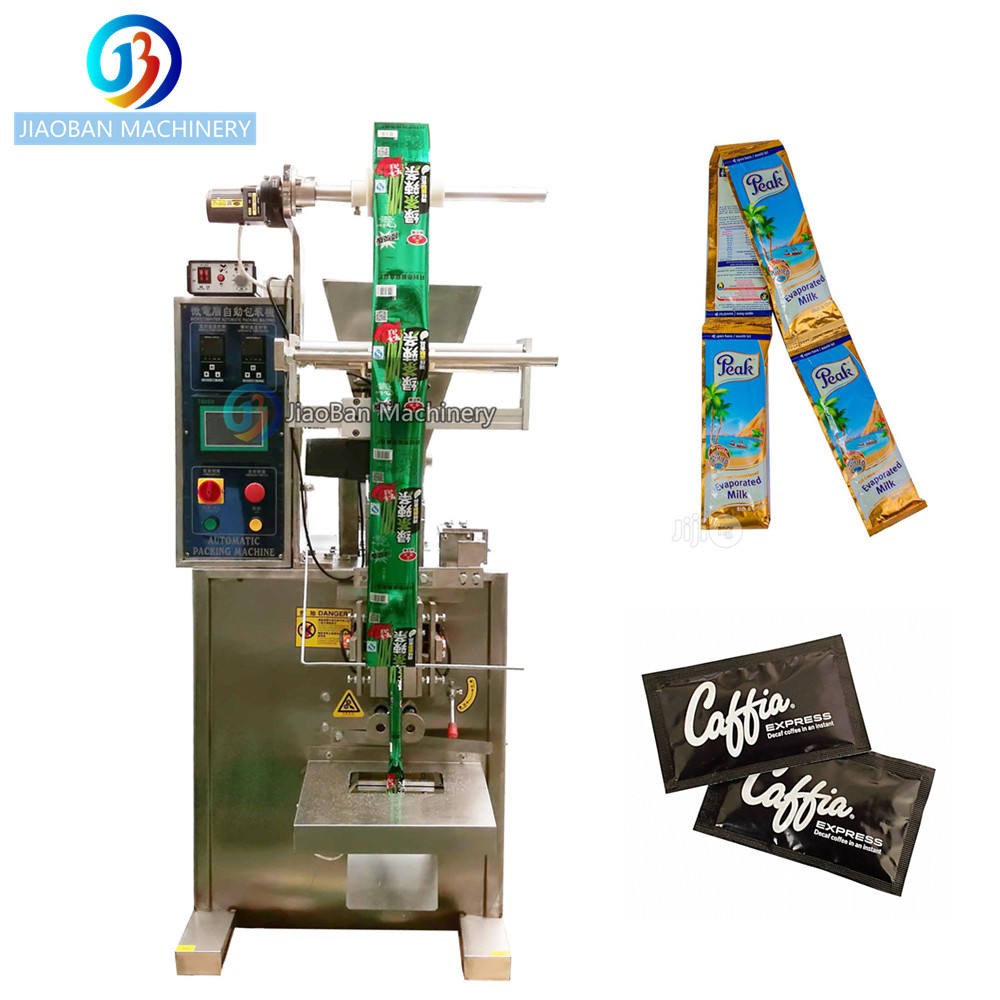 Hot sale JB-150F Automatic powder packaging machine 3/4 sides seal bag sealer
