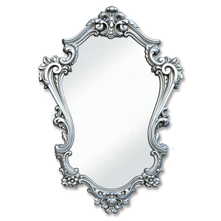 Banruo Victorian Style Ornate Polyurethane Mirror Frame for Wall Decor