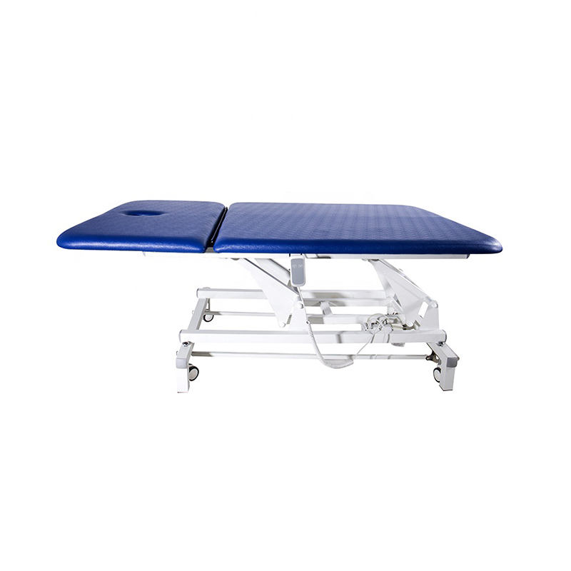H-Brace Bariatric Hi Lo Power Treatment Table Physical Therapy With Adjustable Backrest