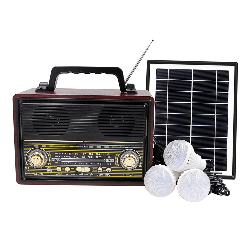 2019 Hot Sale EP-521 Solar Panel Powered Bluetooth Subwoofer Speaker 30 Hours Outdoor Solar Panel Charging Bluetooth Speaker