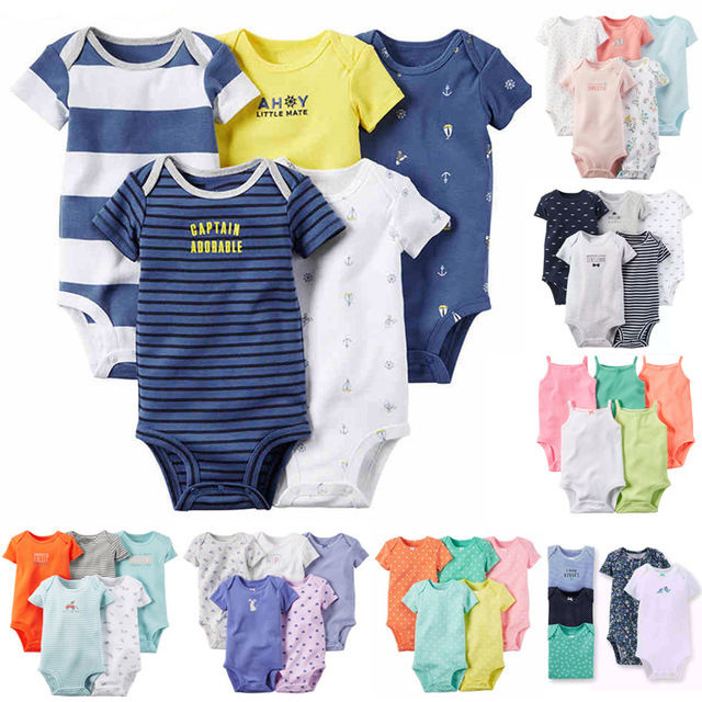 new design manufactory short sleeve romper baby clothes