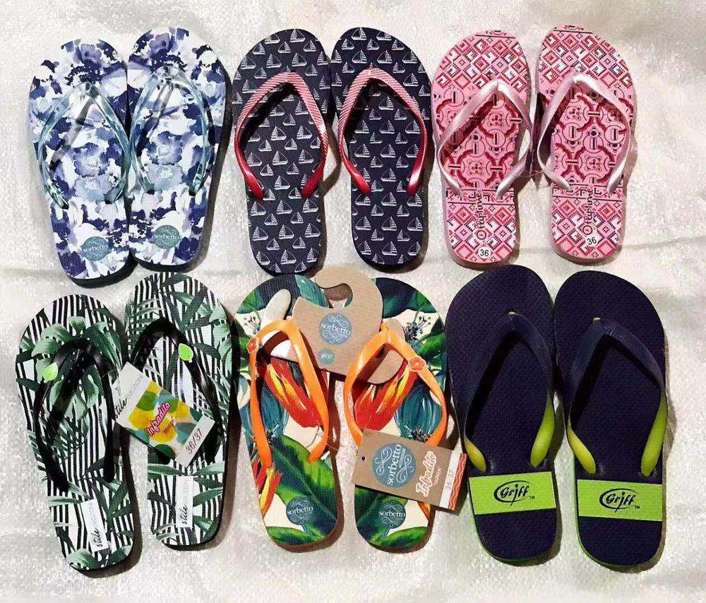 Mix design adults flip flop stock slippers stock shoes
