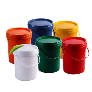 HDPE /PP food grade 20 liter plastic round bucket for water,food or car