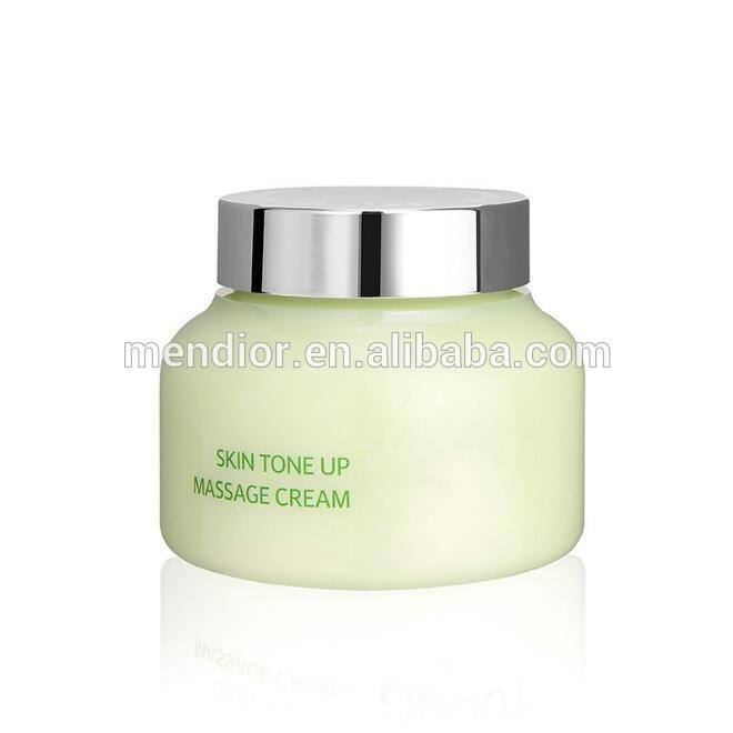 Menior Private label Organic Skin Tone Up Massage Cream exfoliating lighting face cream