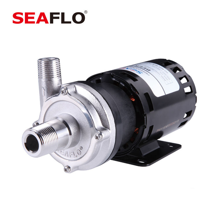 SEAFLO 115V AC 400GPH Stainless Steel Heating Water Circulation Pump For Home Beverage
