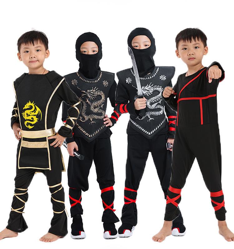 Halloween Samouraï tissu cos, anime bande dessinée <span class=keywords><strong>Naruto</strong></span> Ninja vêtements enfants unisexe <span class=keywords><strong>naruto</strong></span> <span class=keywords><strong>costume</strong></span> <span class=keywords><strong>cosplay</strong></span>