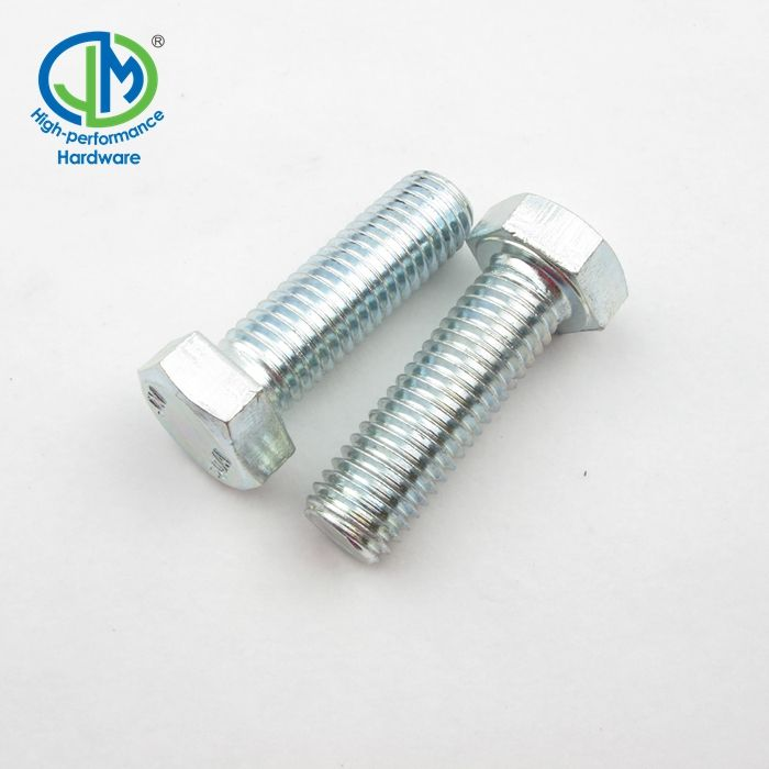 "Hex Bolt 1/8"" 3/8"" 7/16"" 5/8"" Galvanized Hex Bolt"