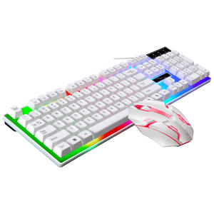 G21B USB 2.0 Backlit LED Professional 104 Keys Keyboard Mouse Combos Home Notebook Desktop Computer Latest Gaming Keyboards