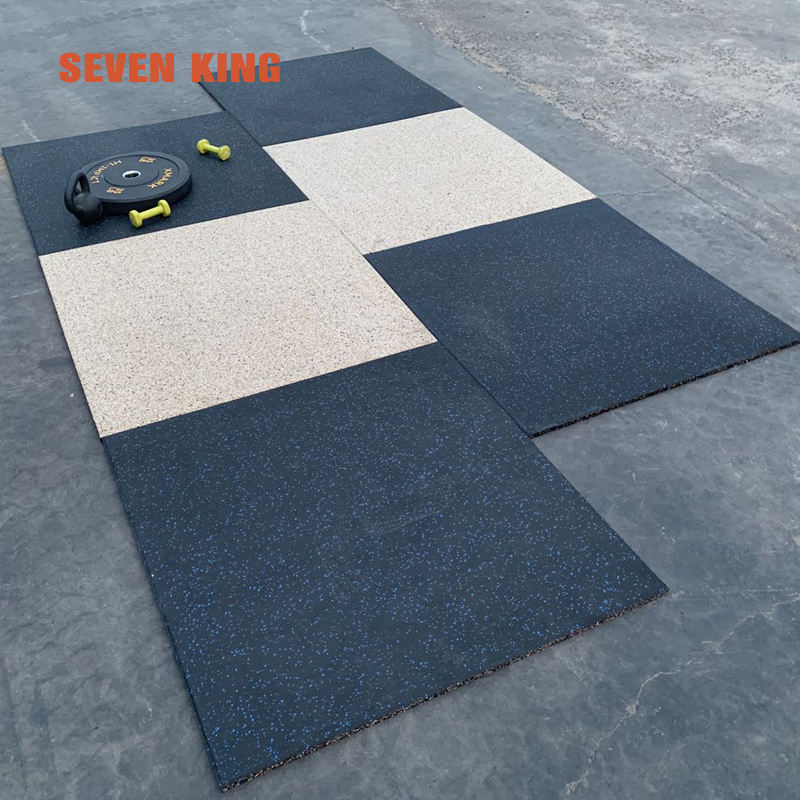 Factory price shock absorbing gym rubber floor mat