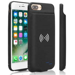 Factory wholesale wireless charging smart battery case with audio