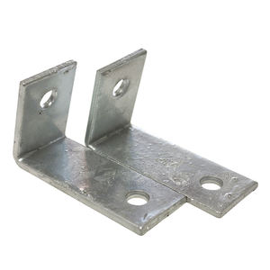 Custom L shaped Galvanized metal steel angle corner brackets for sale