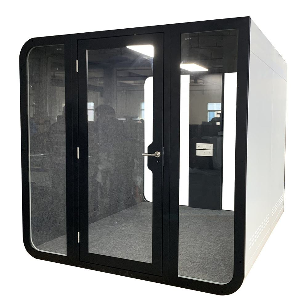 Acoustic Conference Glass Cabin Quad