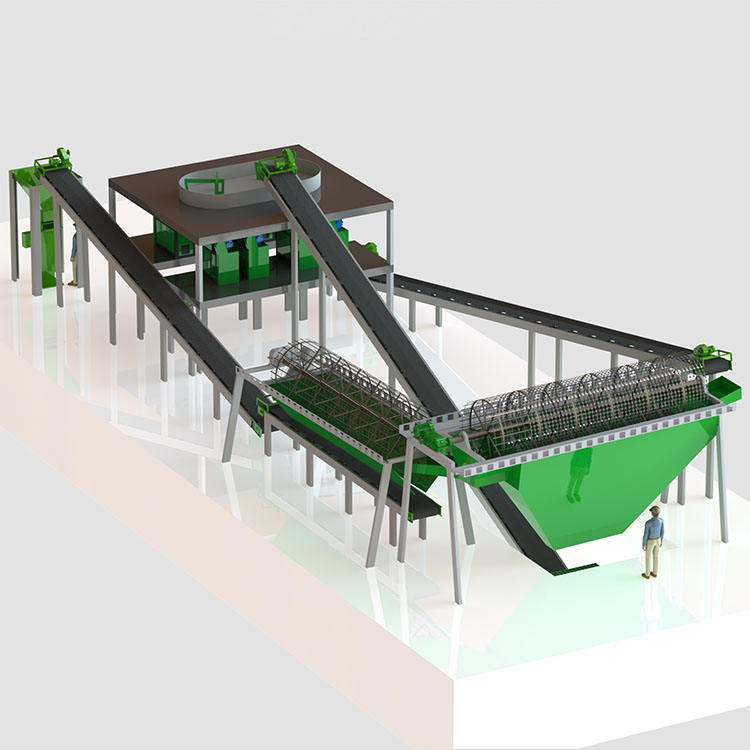 High efficient Rotary Drum Granulator widely used NPK Compound fertilizer production line