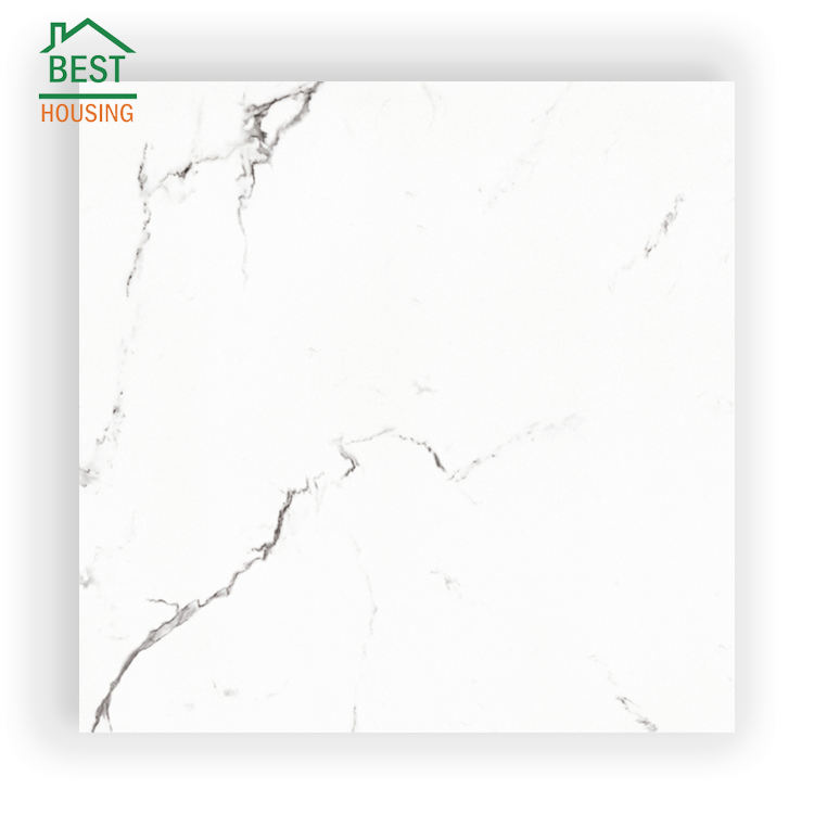 Factory price for hot sale wall and floor tile in qatar 60 60 carrara white tiles