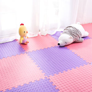 Customized Print Design Security Environmental Interlocking Children Play Eva Foam Floor Mat For Kids