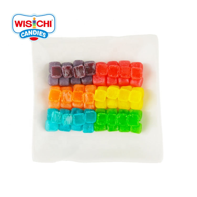 Free sample good taste mix fruity flavour sour sweet gummy candy halal custom jelly gummy candy