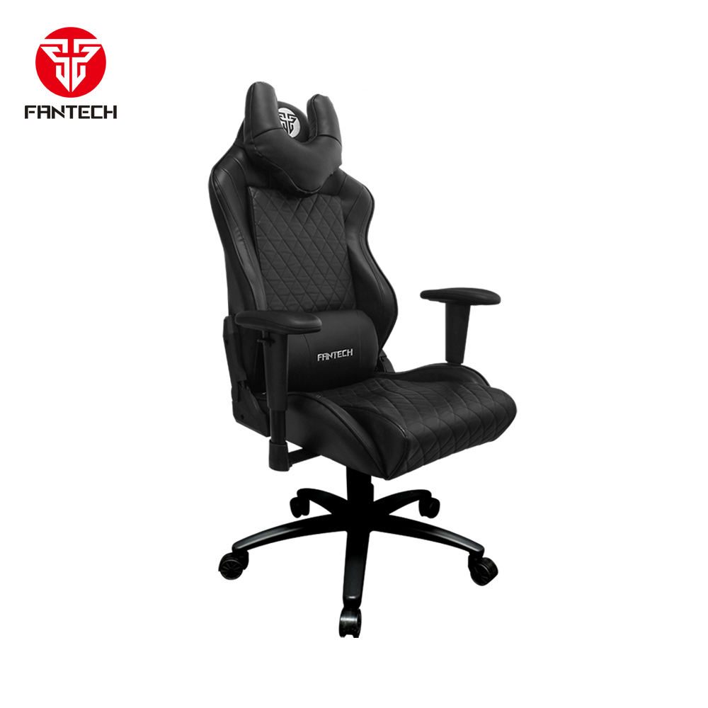 High Quality Gaming Chair GC184 Fantech For Both Gaming Cafe and Office Use PU Leather Adjustable Height Computer Accessory