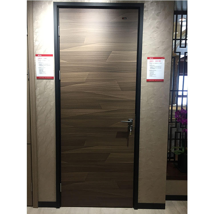Wood Flush Skin Mirror Interior Laminate Moisture Proof Flush Door