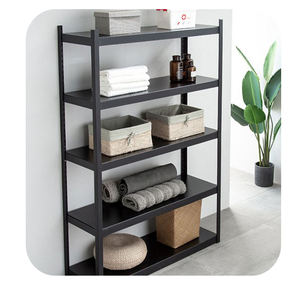 Easy Adjustable Install Height 5 Layers Metal Customizable Steel Color Light Duty Boltless Shelving Racking System