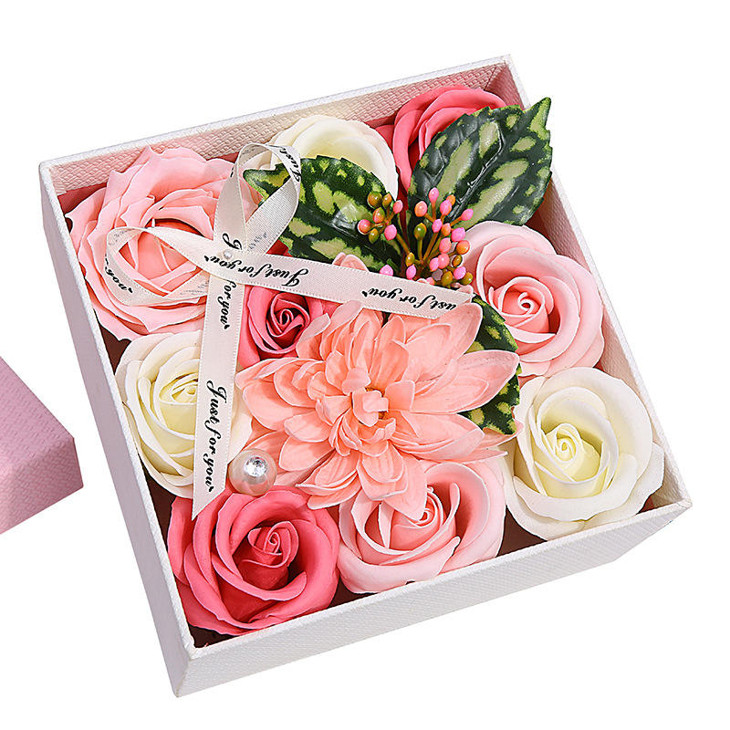Wholesale best mothers day gift set san valentin 2021 decorative flowers