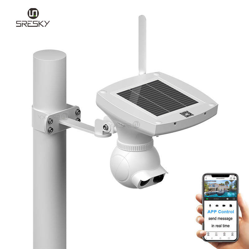 Sresky new product 1080P home security wifi solar ip camera with Cloud Storage & Build-in SD Card