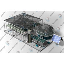 Recirculating Aquaculture RAS System Ras Fish Farm Filter System