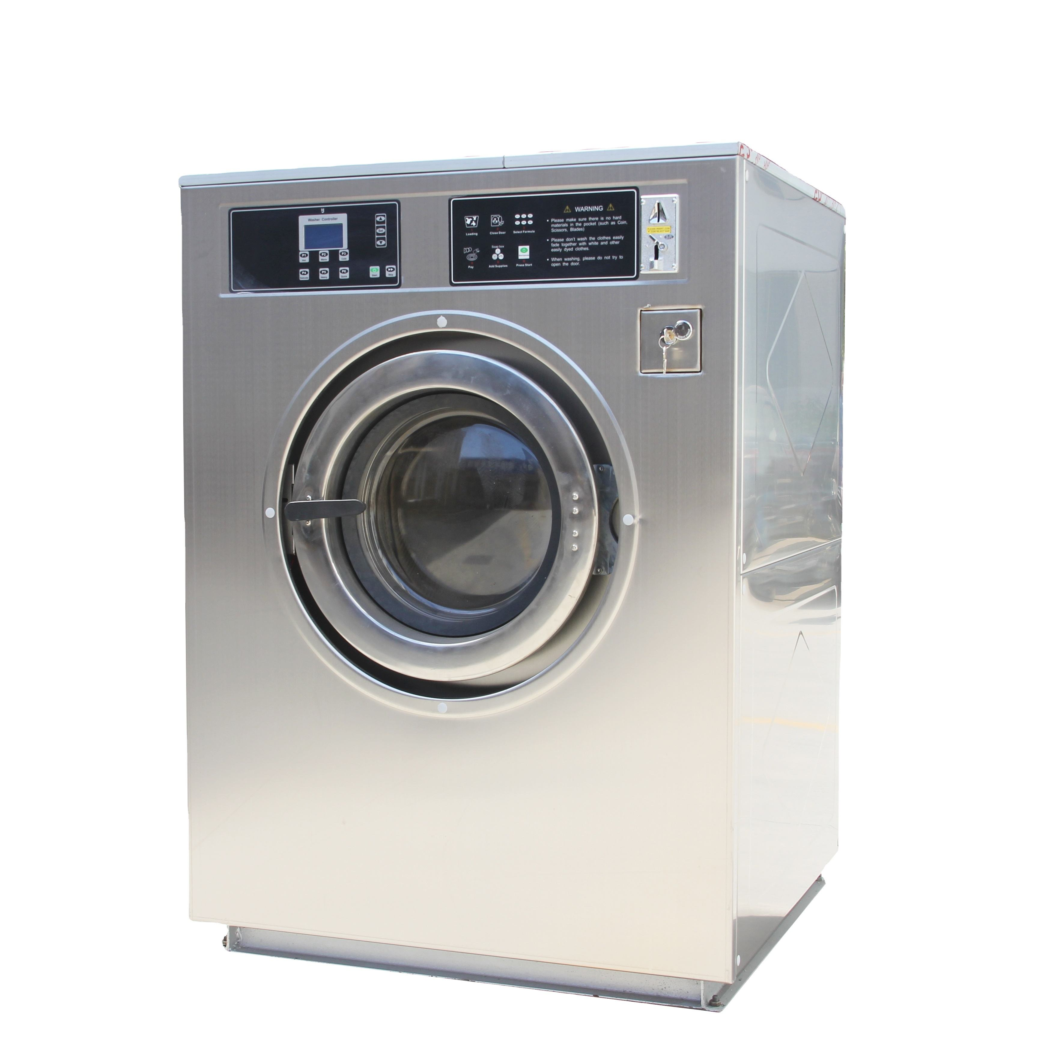 Heavy duty coin operated washing machines commercial wash machine