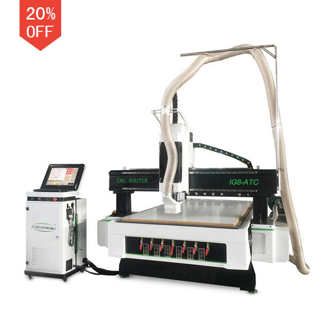 1530 1325 atc cnc router 4x8 ft automatic 3d wood craving machine woodworking composite mdf kitchen cabinet furniture