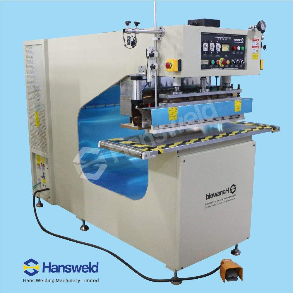 Used High Frequency Double Heads HF Welding PVC Machine