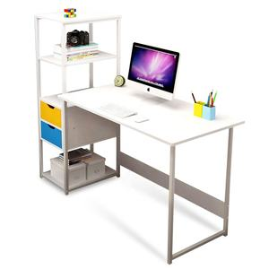 Cheap Station For Adjustable White Design Top Work Furniture Modern Laptop Stand Home Table Computer Office Desk