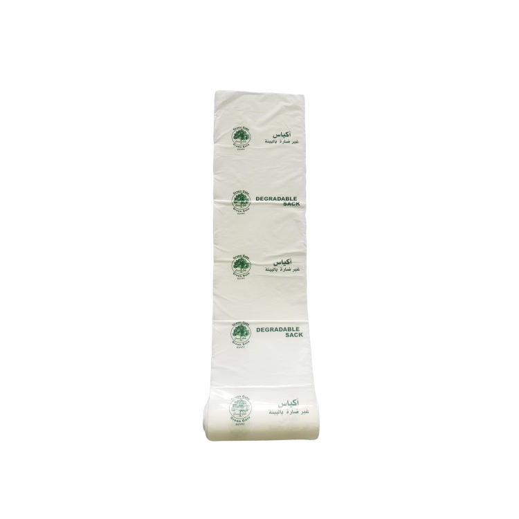 Economical and affordable oxo biodegradable plastic bag durable