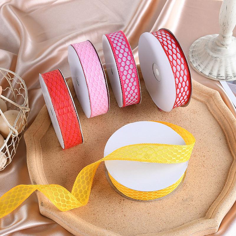Venta caliente decoración de Navidad personalizado impreso cintas y cordones para manualidades