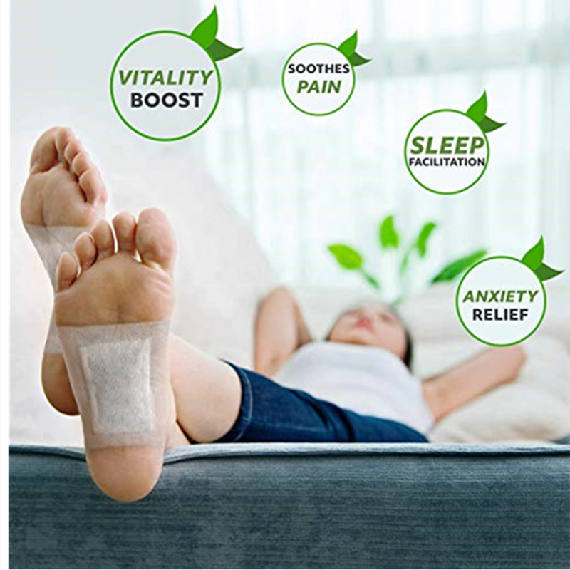 hot detox relax foot patch/foot pads remove toxins Professional manufacturer Chinese herb detox foot patch