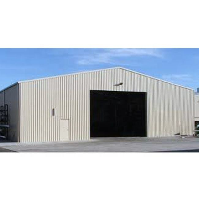 China Low Price Metal Factory Hangar Building with Autocad Drawing Prefabricated Steel Structure Warehouse