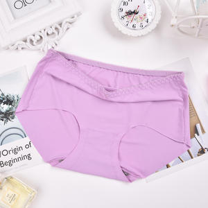 JINFENG OEM/ODM Cueca Tmmy Seamless Warm place Slimming Sexy Laser Cut One Piece Seamless Women's Underwear T-back Thong Panties