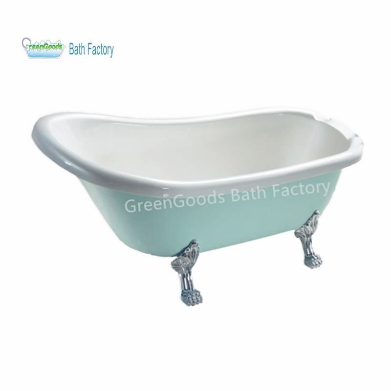 Bath Tubs Factory Made Classic Green Clawfoot Bathtub