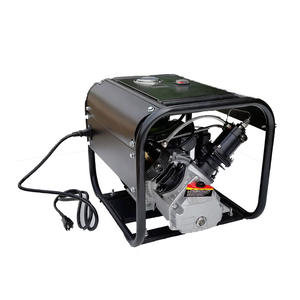 1.5kw 2pk hogedruk paintball luchtcompressor, 300bar 4500psi luchtpomp
